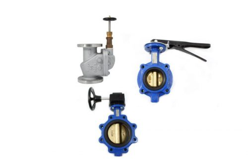 JIS Butterfly valves and check valves